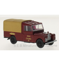 LAND ROVER SERIES I 109 RHD BRITANNIQUE RAILWAYS 1:43 OXFORD