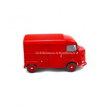 CITROËN HY TYPE H 1962 ROUGE 1:24 WELLY