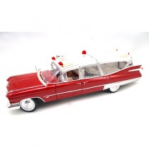 CADILLAC AMBULANCE DE 1959 COLLECTION 1:18 GREENLIGHT PRECISION