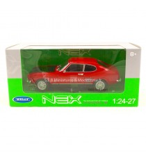 FORD CAPRI RS 1969 ROUGE / NOIR 1:24-27 WELLY