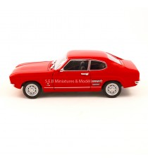 FORD CAPRI 1969 ROUGE 1:24-27 WELLY