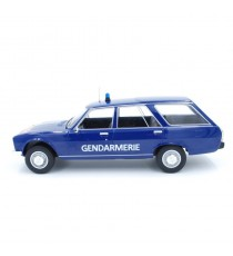 PEUGEOT 504 BREAK GENDARMERIE NATIONALE MCG 1/18 Côté gauche