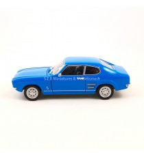 FORD CAPRI I 1600 GT XLR 1969 BLEU CLAIR 1:24 WELLY