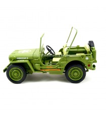 Jeep Willys US Army 1942 vert 1/18 T9