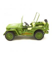 Jeep Willys US Army 1942 police militaire 1/18 T9