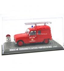 RENAULT 4L FOURGONNETTE 1965 SAPEURS POMPIERS DE NICE 1/43 PRESSE