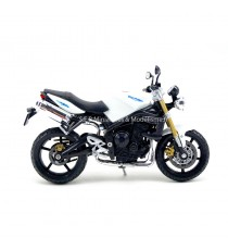 TRIUMPH STREET TRIPLE 2000 BLANCHE SANS SOCLE 1:18 WELLY