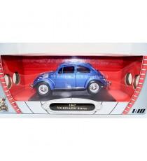 VW VOLKSWAGEN COCCINELLE de 1967 BLEU 1:18 LUCKY DIE CAST