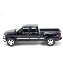 CHEVROLET SILVERADO EXTENDED CAB PICK-UP 1999 NOIR 1:24 WELLY