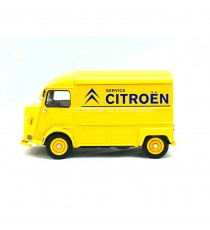 "CITROËN HY TYPE H 1962 JAUNE ""CITROËN SERVICE"" -1:24-27 WELLY"