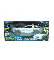 "DE LOREAN LK RETOUR VERS LE FUTUR II 1983 ""FLY MODE"" 1:24 WELLY"