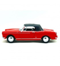 PEUGEOT 404 CABRIOLET 1963 ROUGE 1:24 WELLY