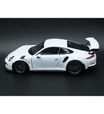 PORSCHE 911 GT3 RS 2015 BLANC 1:24 WELLY