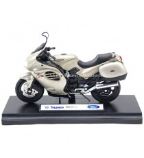 TRIUMPH TROPHY 2002 PLATINE 1:18 WELLY