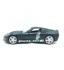 CHEVROLET CORVETTE STINGREY POLICE DE LA ROUTE USA 2014 1:18 MAISTO