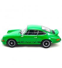PORSCHE 911 CARRERA RS 2.7 1973 VERT 1/18 WELLY côté gauche