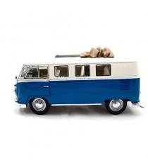 VW VOLKSWAGEN T1 MICROBUS DE 1962 AVEC TOIT COULISSANT 1:18 LUCKY DIE CAST