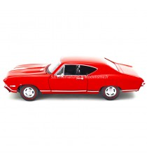 CHEVROLET CHEVELLE SS 396 de 1968 ROUGE 1:24 WELLY