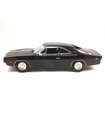 DODGE CHARGER 70 R/T 1969 NOIR 1:18
