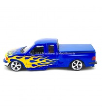 FORD F 150 PICK UP REGULAR CAB FLARESIDE BLEU 1998 -1:24 WELLY