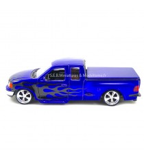 FORD F 150 PICK UP REGULAR CAB FLARESIDE POURPRE 1998 -1:24 WELLY