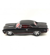 CHEVROLET CHEVELLE SS 1967 NOIR 1:24 AUTO WORLD