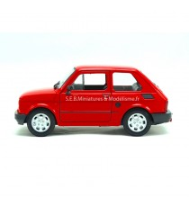 FIAT 126 ROUGE 1:24 WELLY