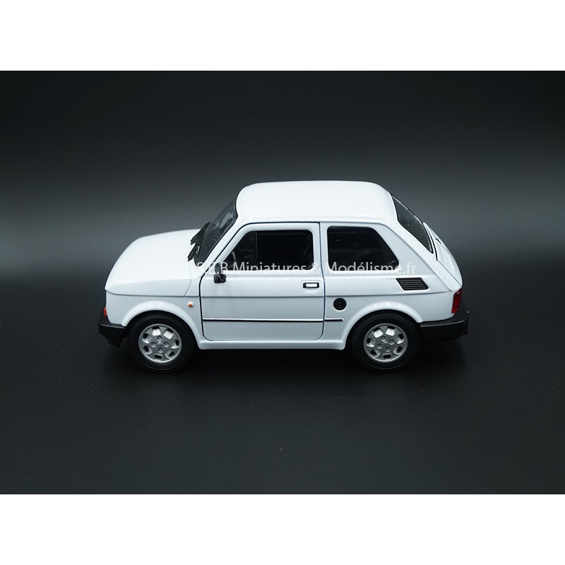FIAT 126 BLANCHE  - 1:24 WELLY