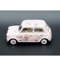 "AUSTIN MINI "" HELLROSA RHD "" 1:43 OXFORD"