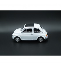 FIAT 500 BLANCHE - 1:24-27 WELLY