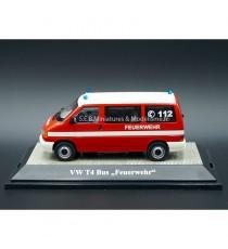 """VW VOLKSWAGEN T4 BUS POMPIERS  """"112"""" SÉRIE LIMITÉE 500Pcs 1:43 PREMIUM CLASSIXXs"""