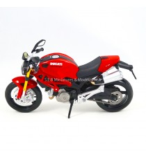 DUCATI MONSTER 696 2010 ROUGE 1:12 MAISTO