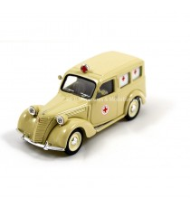 FIAT 1100 1947 AMBULANCE CROIX ROUGE 1947 1/43 BRUMM