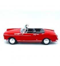 PEUGEOT 404 CABRIOLET TOIT OUVERT 1963 ROUGE 1/24 WELLY