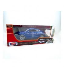 AUDI TT COUPE DE 2007 BLEU 1/18 MOTORMAX dans sa boîte