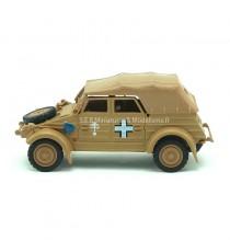 VW VOLKSWAGEN KUBELWAGEN 82 SABLE MILITAIRE 1940 BÂCHÉ 1:43 CARARAMA