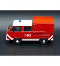 VW VOLKSWAGEN T3A DOUBLE CABINE POMPIERS 112 1:43 PREMIUM CLASSIXXs