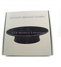 Miniatures montées: PLATEAU TOURNANT  1/24 - 1/18