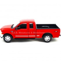 FORD F-350 V8 PICK UP DE 1999 ROUGE 1/24 WELLY