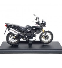 TRIUMPH TIGER 800 BLANC 1:18 WELLY