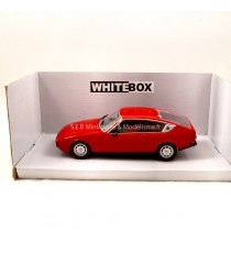 MATRA SIMCA BAGHEERA 1974 ROUGE 1/24 WHITEBOX