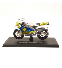 APRILIA RSW 250 LE FILM ROAD RACING WORLD CHAMPIONSHIP 2008 LUKAS PESEK N°52 1:18 ABREX SUR SOCLE