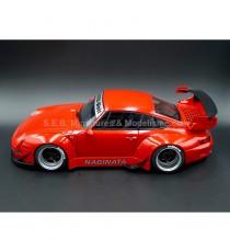 PORSCHE 911 ( 993 ) RWB RAUH-WELT GRAUE JANTES - 1:18 AUTOart