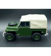 LAND ROVER LIGHTWEIGHT SERIES LLA D SOFT TOP 1:18 BOS-MODELS
