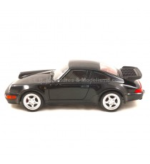 PORSCHE 911 TURBO 1974 NOIR - 1:24 WELLY AV18DC