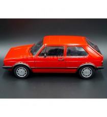VW VOLKSWAGEN GOLF GTI 1800 série 1 ROUGE 1984 1:18 WELLY