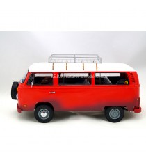 VW VOLKSWAGEN COMBI T2 MINIBUS 1973 ( FILM FIELD OF DREAMS ) 1:18 GREENLIGHT