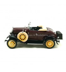 FORD MODEL A ROADSTER 1931 ROUGE FONCE 1:18 SUN STAR