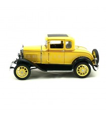 FORD MODEL A COUPE 1931 JAUNE 1:18 SUN STAR