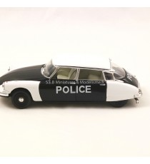 CITROËN DS 19 POLICE DE PARIS 1960 NOIR/BLANCHE 1:43 VITESSE côté gauche